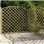 6FT Pressure Treated Convex Diamond Trellis - 3 Panels Only (Base Price)