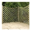 6FT Pressure Treated Concave Diamond Trellis -10 Panels Only (base)