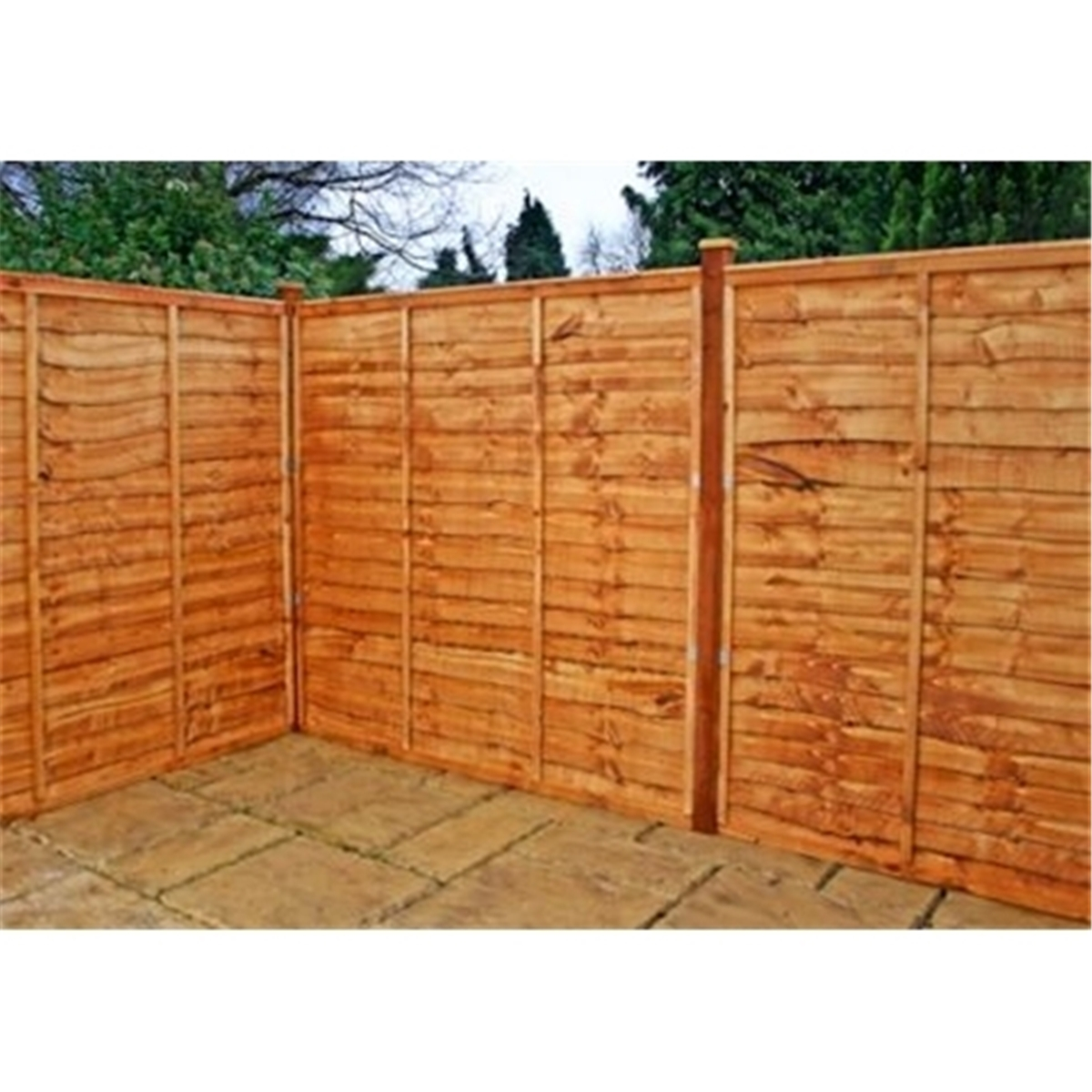 Very Impressive portraiture of ft x 8 ft Solid Tongue and Groove Vinyl Fence Panel (White with #974510 color and 1200x1200 pixels