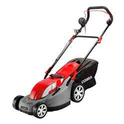 Electric Rear Roller Lawnmower - 38cm - Cobra GTRM38 - Free Next Day Delivery*