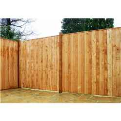 6FT Vertical Hit & Miss Panels - 1 Panel Only (Min Order 3 Panels) + Free Delivery*